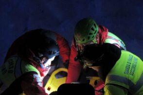 Gestore di una baita cade e sbatte la testa: interviene il Soccorso alpino