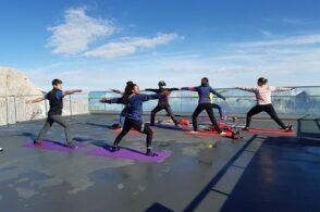 Yoga ad alta quota: sulla Tofana di Mezzo e la Marmolada