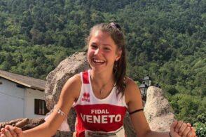 La zoldana Lucia Arnoldo è la miglior veneta ai tricolori di Venaus