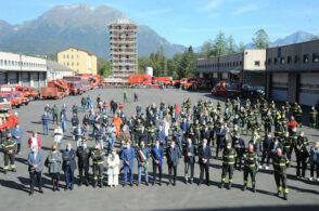 La squadra dei pompieri si allarga: 8 nuovi vigili del fuoco a Belluno