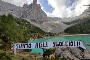 Ghiacciai a fine vita: Fridays for Future lancia lo sciopero dal Sorapis