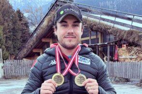 Altro trionfo in Coppa Europa: René De Silvestro concede il bis in slalom