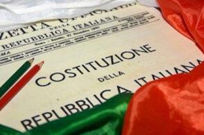 Costituzione Italiana ai neo diciottenni: testo inviato a 56 ragazzi