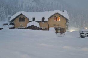 """Tre metri di neve in quota: quantitativi da record """"secolari"""" per il mese di dicembre"""