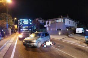 Auto contro scooter, impatto a Fener. Centauro 18enne ricoverato in ospedale