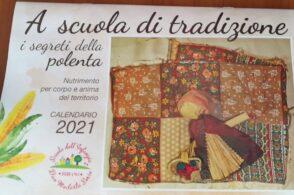 Scuola dell'infanzia di Bribano: i segreti della polenta in un calendario