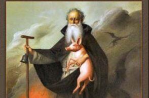 """Il santo """"del porcello"""", sceso all'inferno e venerato per secoli in tutte le campagne"""