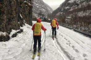 Due scialpinisti rompono le pelli: li salva il Soccorso alpino