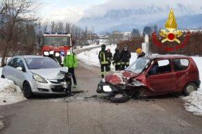 Scontro tra due auto a Castion: una persona finisce in ospedale