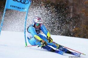 Neve d'argento a Cortina: De Aliprandini secondo in gigante