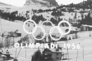 Cortina 2026 scende le scale del teatro Ariston: il logo olimpico alla finale di Sanremo