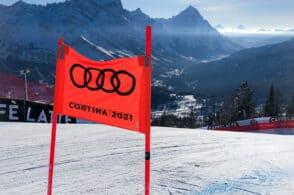 Mondiali sci Cortina, Arpav: «Meteo ok se Tofane non fanno scherzi»