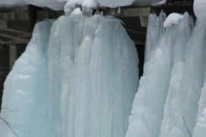 Gelo polare: -25 ° sopra Cortina