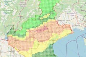 Pm10, Arpav: «Allerta 1 in tutta la regione tranne nel Bellunese»