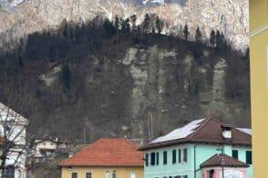 Dissesto storico: un muraglione proteggerà le case dalla frana