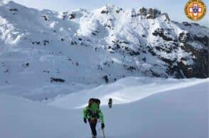 La neve si scioglie, rischi in quota: «Massima prudenza»