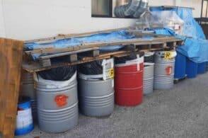 Quasi 5mila litri di rifiuti pericolosi: individuato un deposito a Seren
