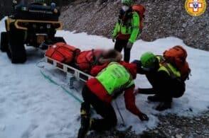 Interventi come in una domenica d'agosto: super lavoro per il Soccorso alpino