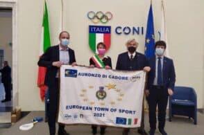Town europea dello sport 2021, the winner is… Auronzo di Cadore