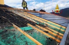 Si surriscalda il fotovoltaico, a fuoco il tetto
