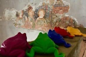 Rane colorate per il restauro. È l'ultima trovata dell'associazione Feudo Mel