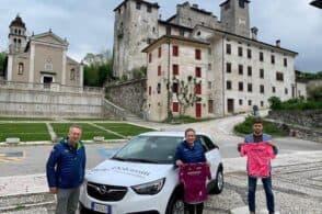 Valbelluna e Feltrino, la promozione turistica pedala al Giro d'Italia