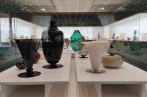 Collezione di vetri d'arte alla Galleria Rizzarda: 200 visitatori in 2 giorni