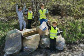 Nevegal ripulito dai rifiuti: anche i bambini danno il loro contributo