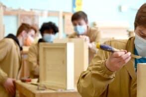 Scuola del Legno. E di occupazione: «Massiccia richiesta delle aziende»