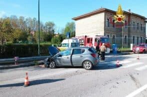 Doppio incidente sulla Sp 1: viabilità bloccata a Levego