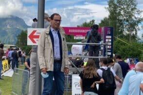 Tappa a Voisard, medaglia al Nevegal: il Colle si conferma vetrina per il grande ciclismo