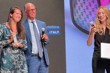 MittelModa a Milano, premiata Carlotta Sacchet: «Siate curiosi, appassionatevi»