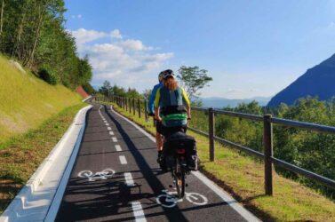 Più bella e più sicura: la pista ciclabile di Soverzene ha un nuovo tratto
